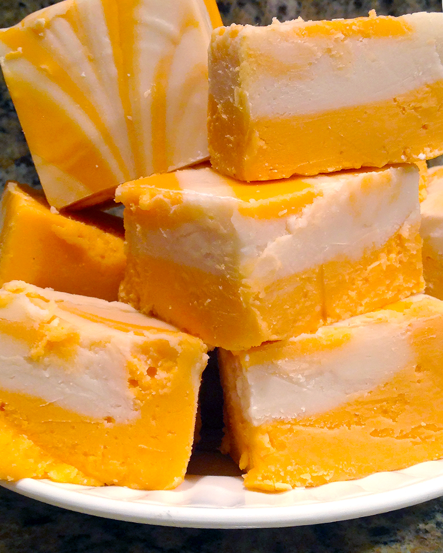 Order Fudge Grudge Orange Cream Fudge On A Plate