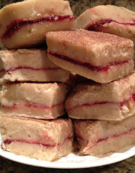 Order Fudge Grudge Jelly Donut Fudge On A Plate